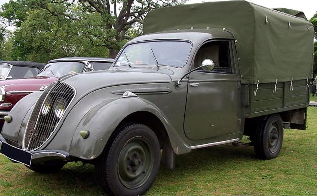 Пикап Peugeot-202