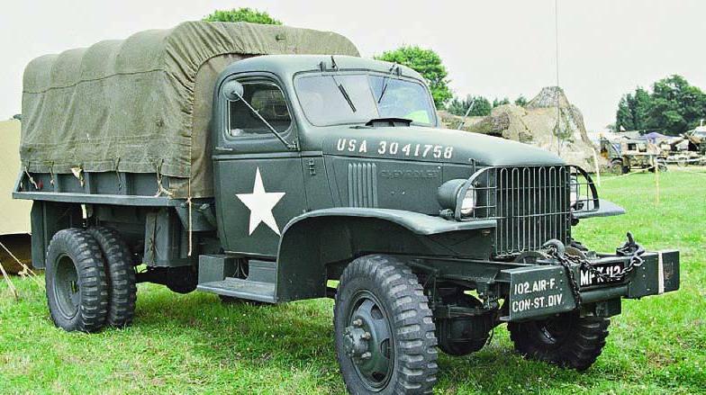 Бортовой грузовик Cevrolet G-4163 с лебедкой