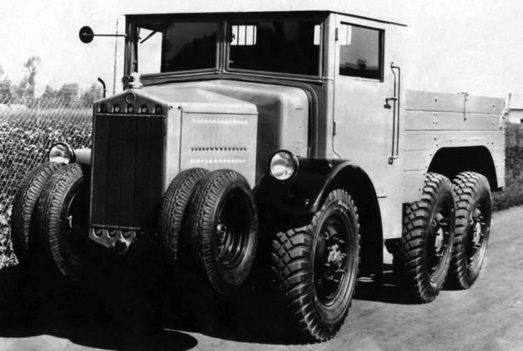 Бортовой грузовик Tatra-22