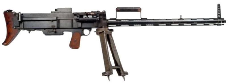 Ручной пулемет Bergmann МG-15nA