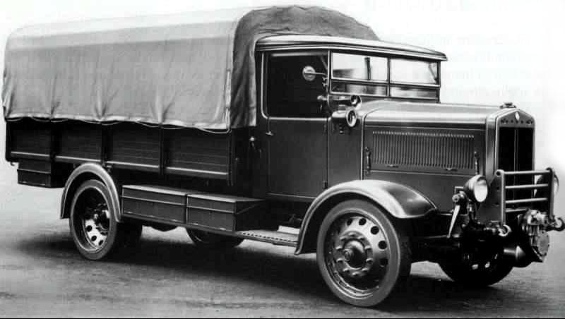 Бортовой грузовик Fiat 633-NM