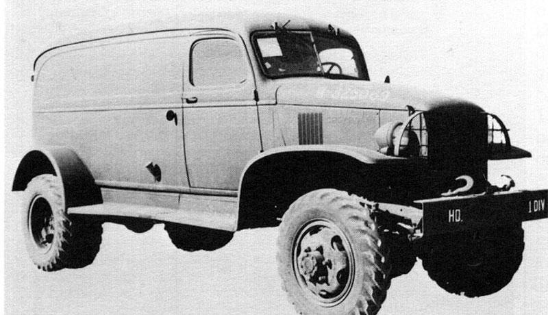 Цельнометаллический фургон Cevrolet G-7105