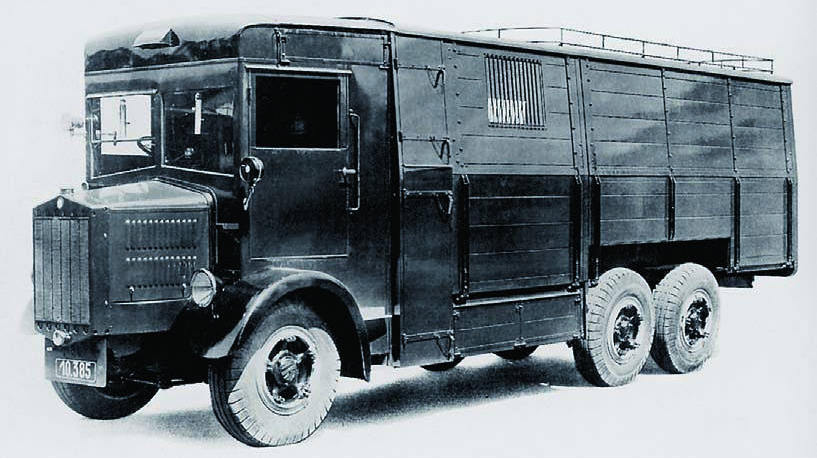 Бортовой грузовик Tatra-29