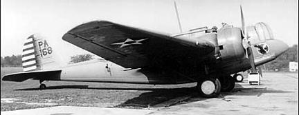 Бомбардировщик Martin B-12