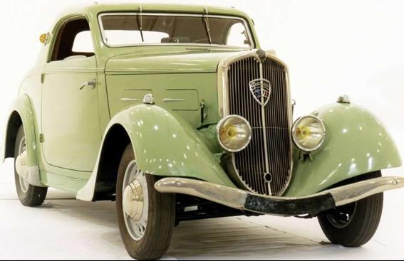 Купе Peugeot-301