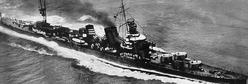Тяжелый крейсер «Aoba»