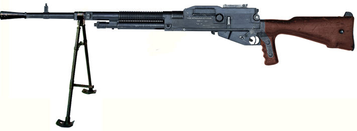 Пулемет Hotchkiss M-1922 с питанием из лент-кассет