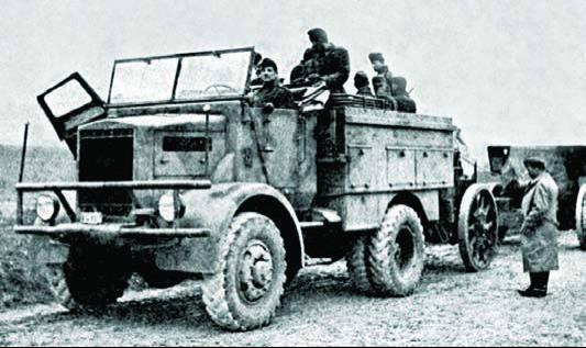 Грузовик Raba Т-41М (Maros)