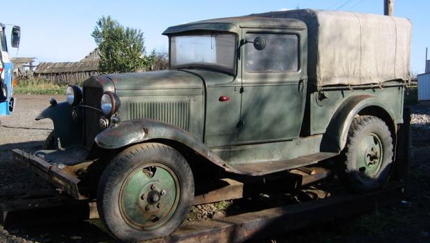 Санитарный автомобиль ГАЗ-4