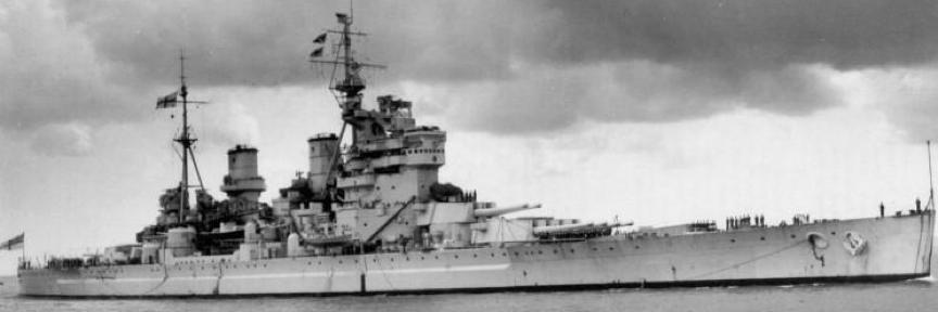 Линейный корабль «King George V»