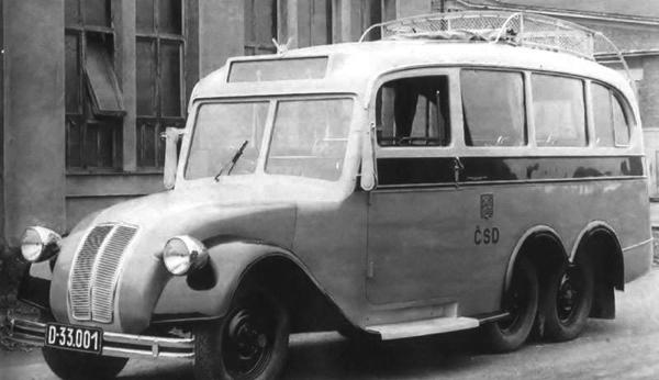 Автобус Tatra -72