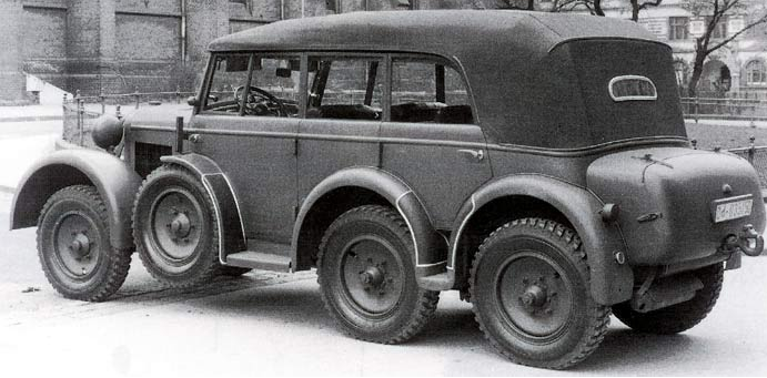 Внедорожник Steyr 40-D