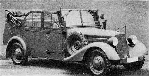 Автомобиль Mercedes-Benz 170-V (Kfz.2)