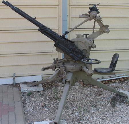 Крупнокалиберный сухопутный пулемет Hotchkiss М-1930