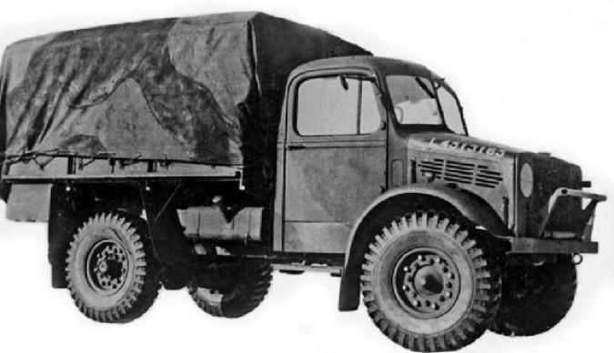 Рисунок грузовика Bedford ОХD