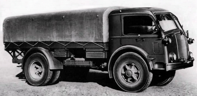 Бортовой грузовик Fiat 665-NM