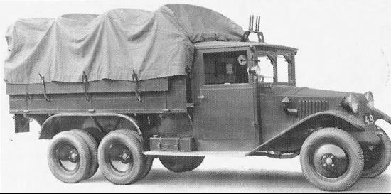Бортовой грузовик  Tatra -72