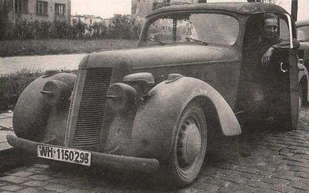 Автомобиль Imperia TA-7 (Mеsange/Alouette)
