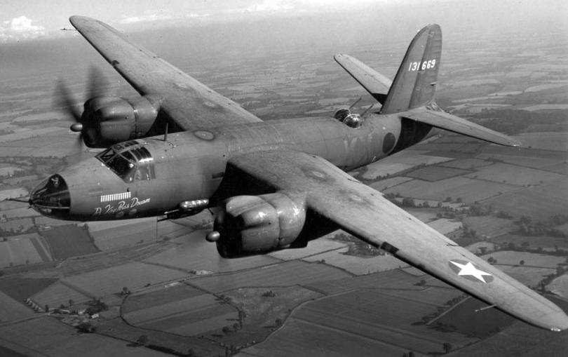 Бомбардировщик Martin В-26В