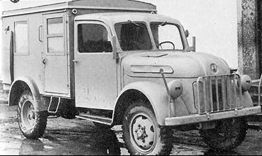 Грузовик Steyr -270 (1500А) с бортовым кузовом