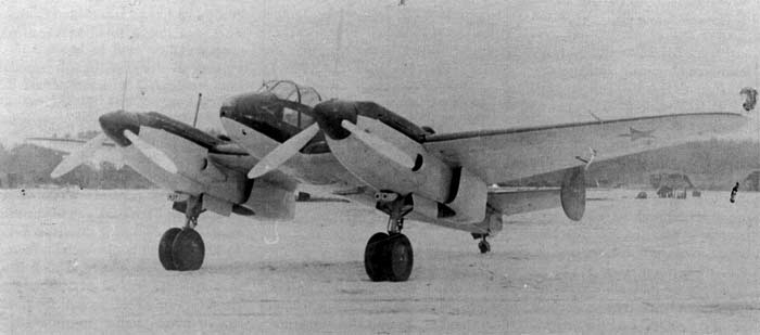 Ближний бомбардировщик Як-4