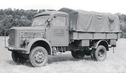 Грузовик Klöckner-Deutz-Magirus A-3000 (A-330)