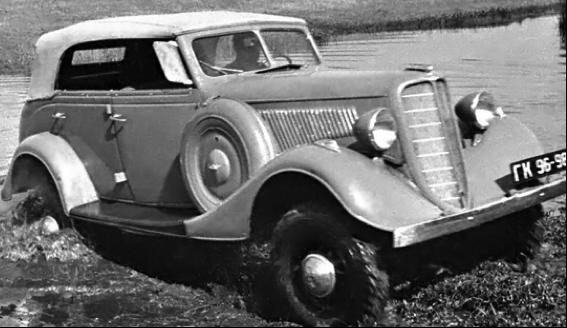 Полноприводный кабриолет ГАЗ-61-40