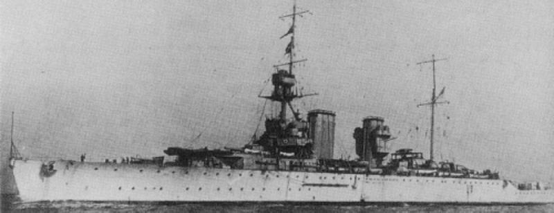 Тяжелый крейсер «Hawkins»