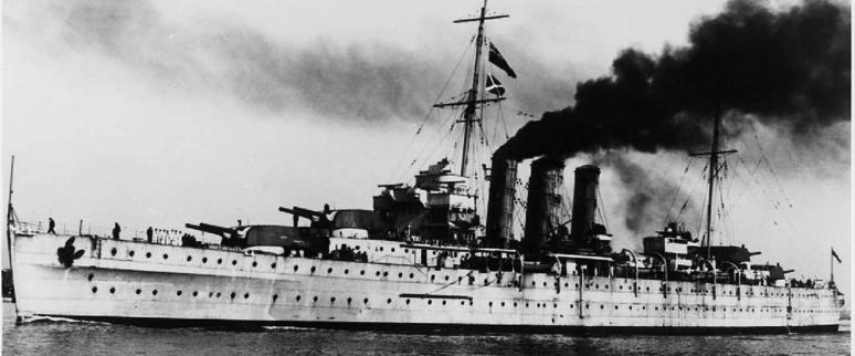 Тяжелый крейсер «Dorsetshire»