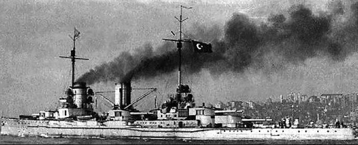 Линейный крейсер «Yavuz» (Goeben)