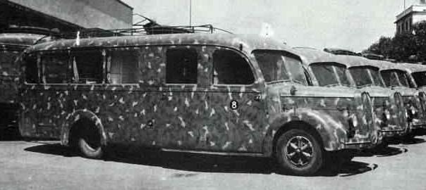 Автобус Alfa Romeo 500-DR