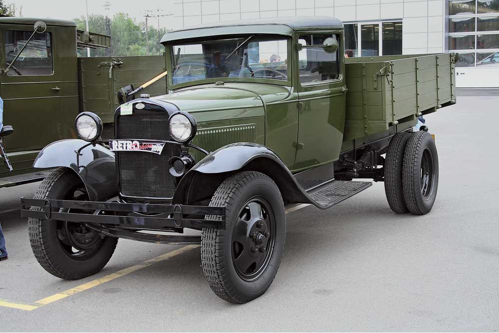 Бортовой грузовик ГАЗ-АА (полуторка)