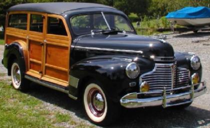 Автомобиль Chevrolet Australia Wagon (гражданская версия)