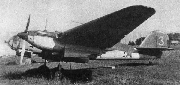 Бомбардировщик СБ (АНТ-40)