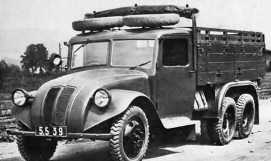 Грузовик Tatra - 82
