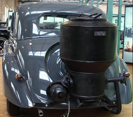 Автомобиль Mercedes-Benz 170-VG (W-136 G) с газогенераторной установкой