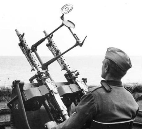 Зенитный вариант MG-34