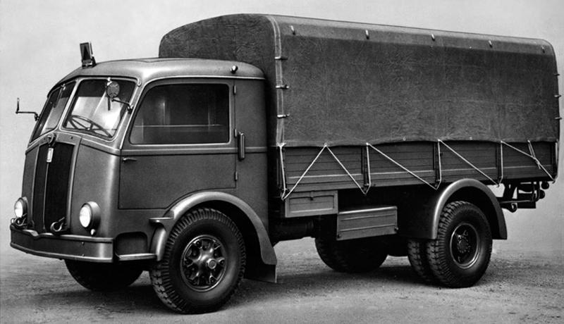 Бортовой грузовик Fiat 666-NM