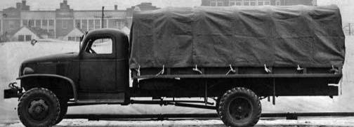 Бортовой грузовик G-7127 на длиннобазном шасси
