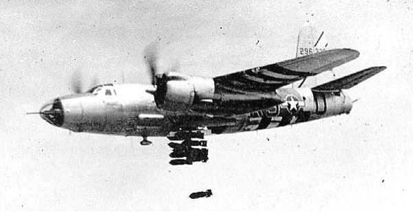 Бомбардировщик Martin B-26F