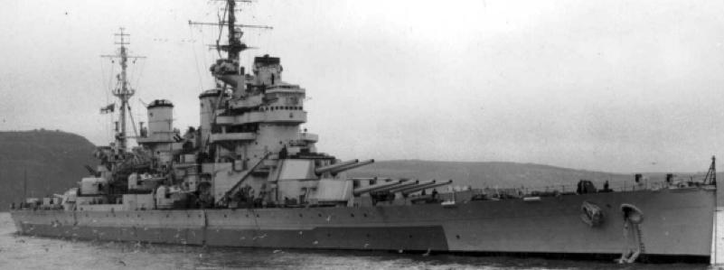 Линейный корабль «Anson»