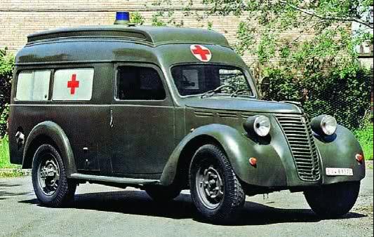 Санитарная машина FIAT 666-NM