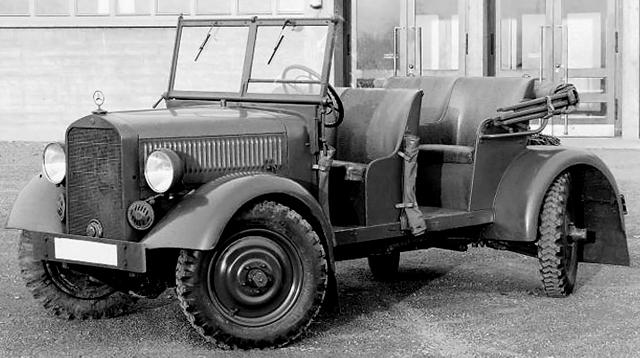 Внедорожник Mercedes-Benz 170-VL (W-139) Kübelwagen