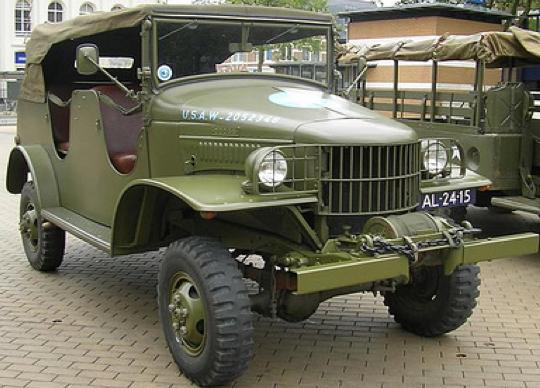 Командирский внедорожник с лебедкой Dodg WC-7/WC-24