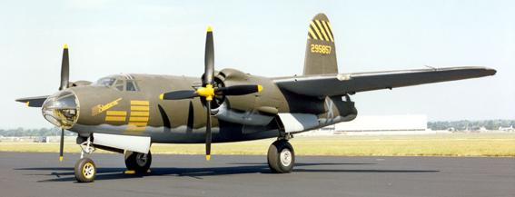 Бомбардировщик Martin B-26G-11