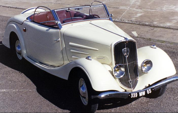 Кабриолет Peugeot-401