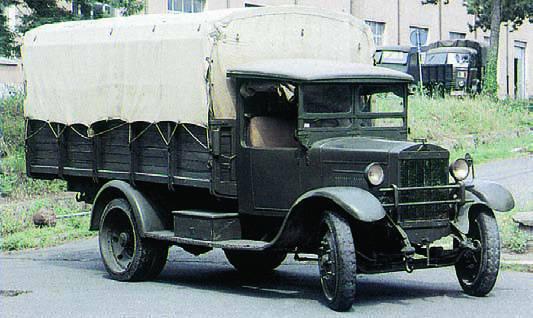 Грузовик Ceirano 50-СМ