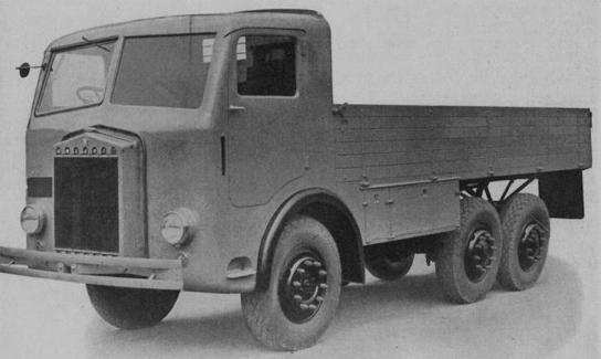 Бортовой грузовик Tatra-85/91