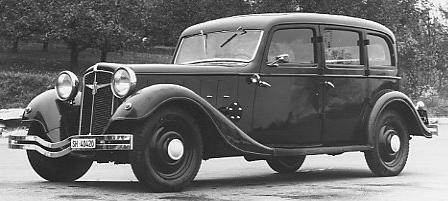 Автомобиль «Adler-Diplomat» 3-G седан