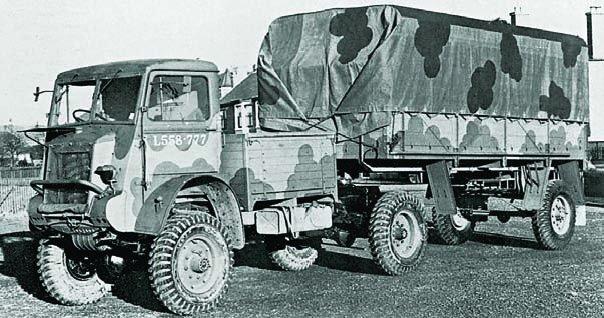 Седельный тягач Bedford QLC